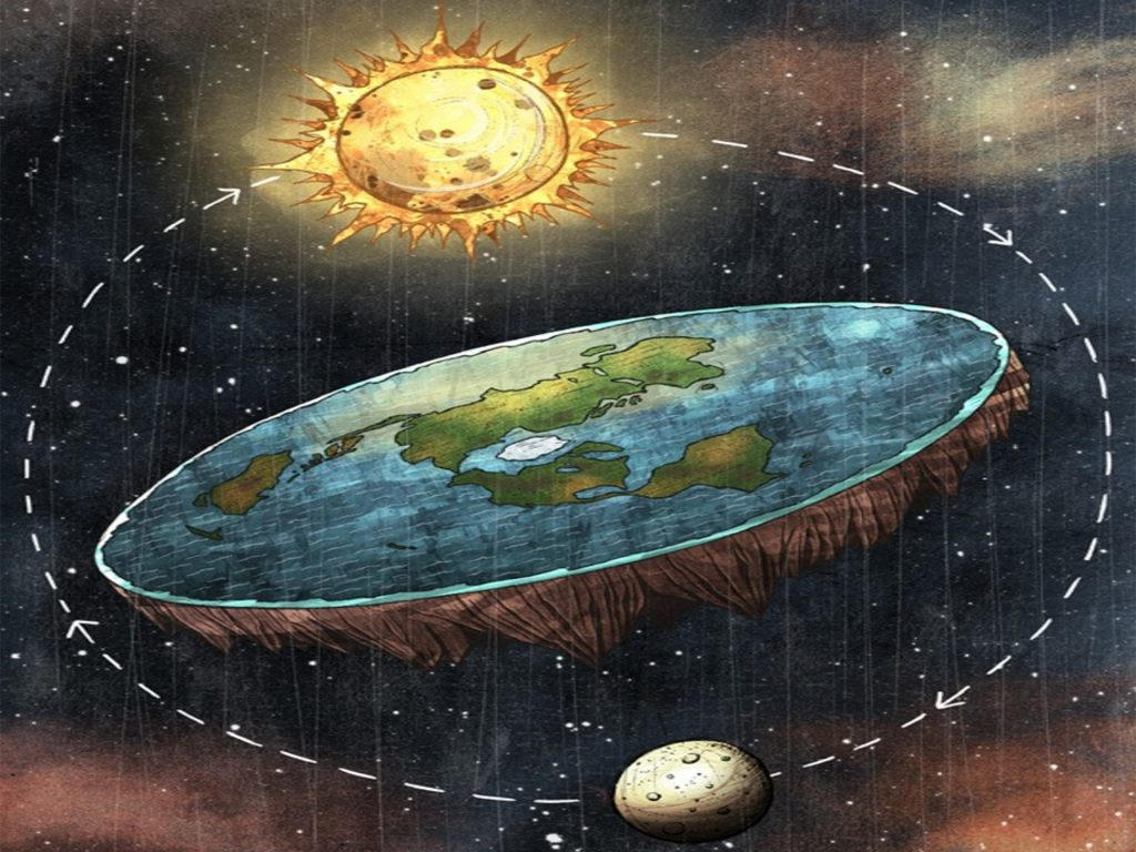 Image result for flat earth society