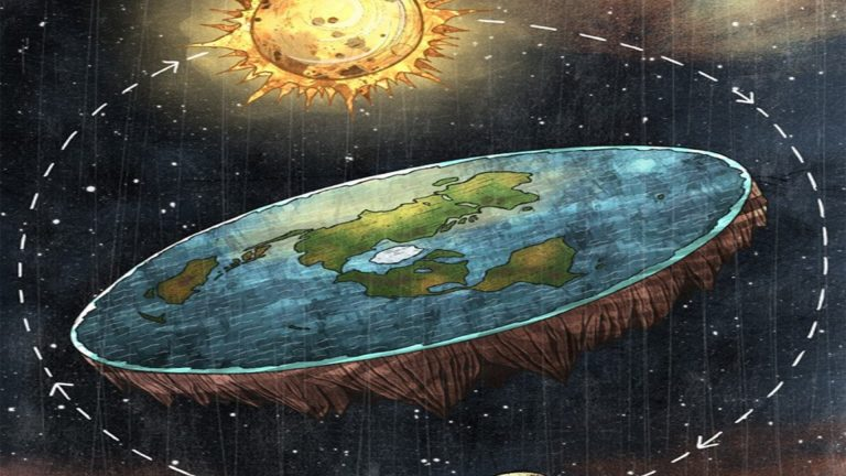 10 Hilarious Theories Believed In By The Flat Earth Society