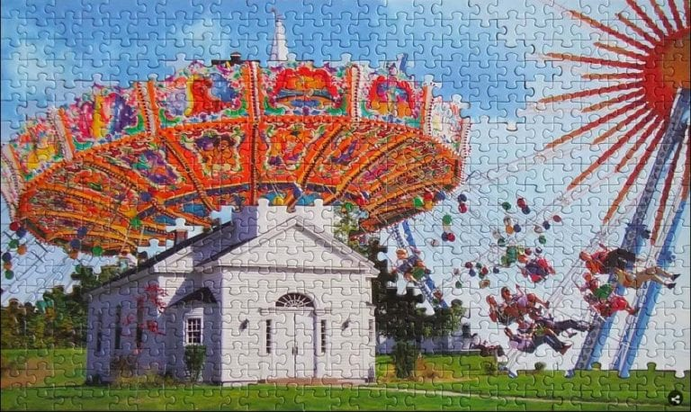 The Crazy Results You Get When You Combine Jigsaw Puzzles